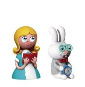 Porcelanowe figurki Alice & The White Rabbit