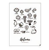 Plakat Autumn - Eat Seasonally