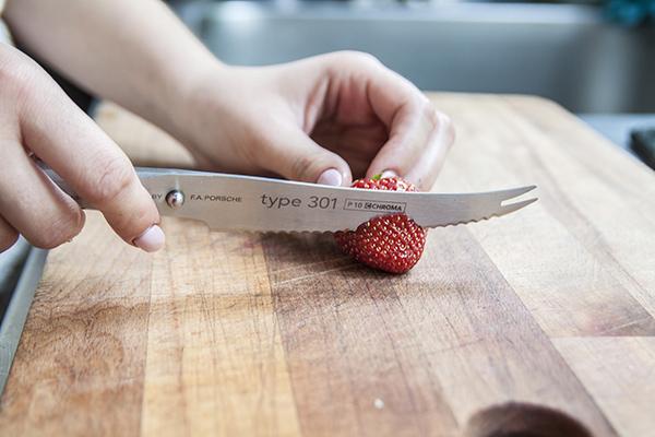 nóż do owoców i warzyw
