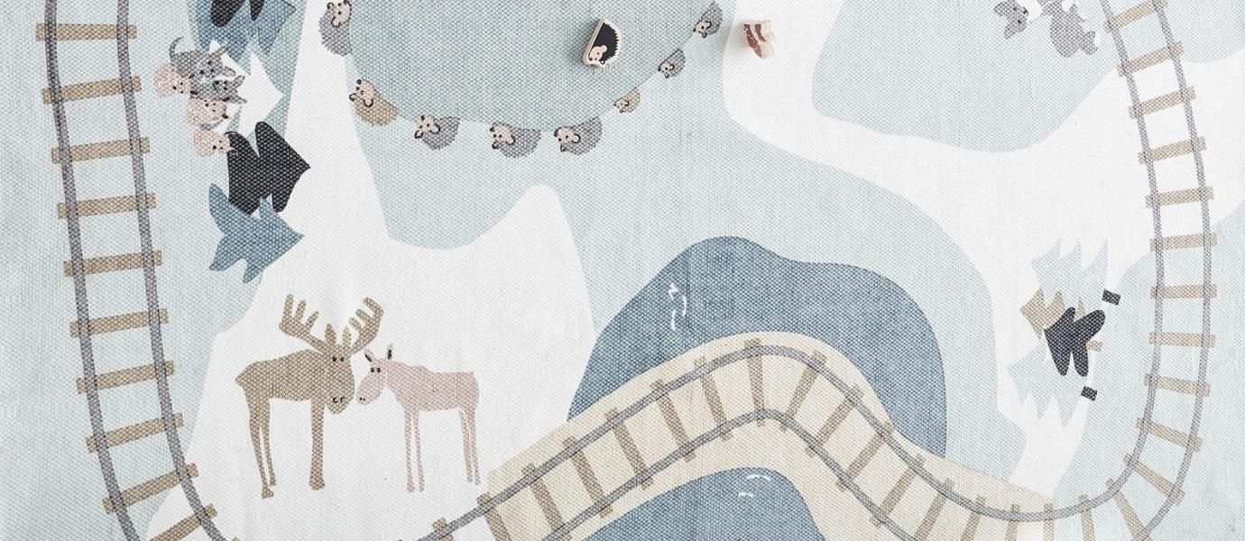 Świeże Dywany dla dzieci. Przytulne wnętrze na wyciągnięcie ręki XJ45