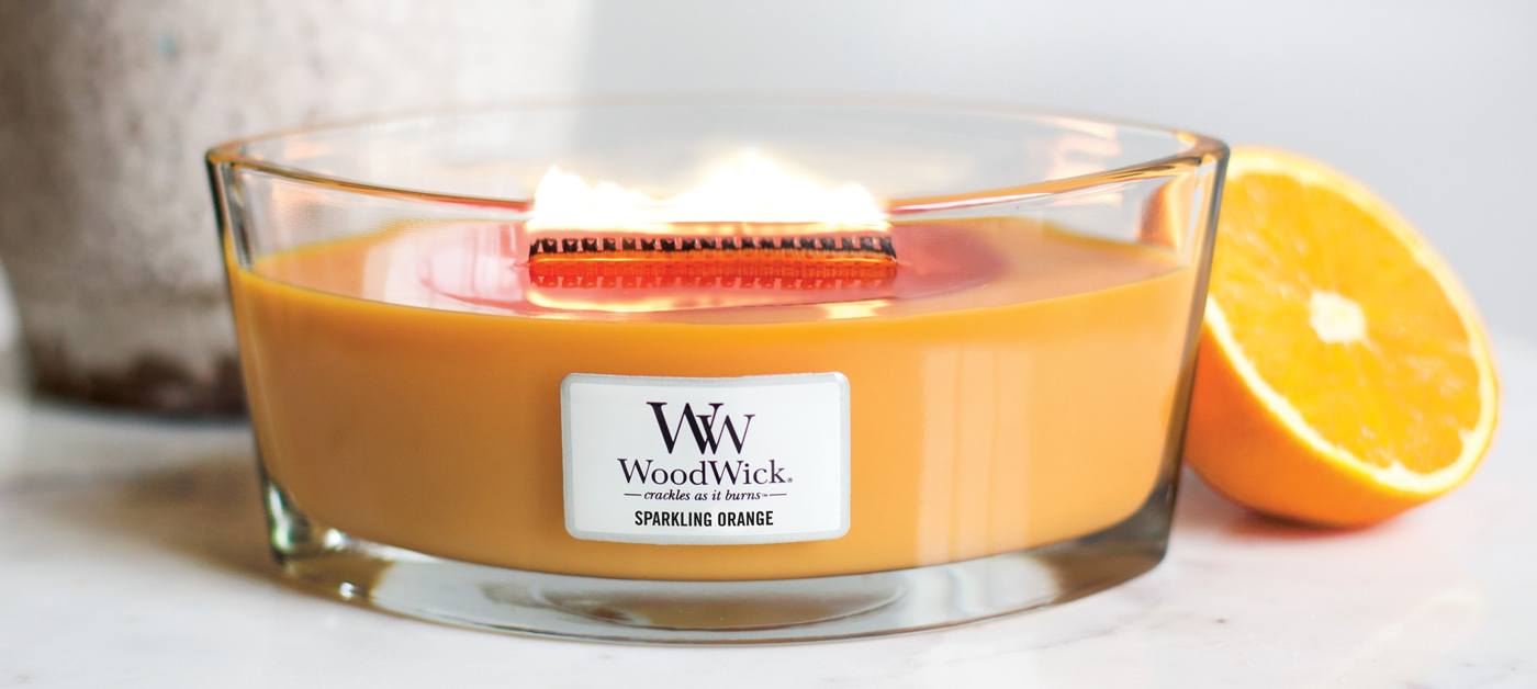 świeca Sparkling Orange Hearthwick WoodWick